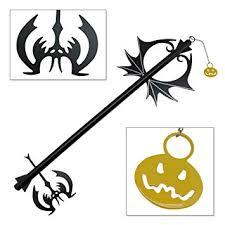 Halloween Town Keyblade by Amazon Com Pumpkin Hearts Oblivion Kingdom Keyblade Metal
