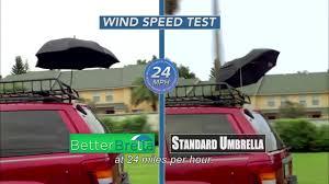Shed Rain Umbrella Amazon by Better Brella Umbrella With Reverse Open Close Technology Bed