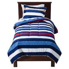 circo rugby stripe bed set toddler target
