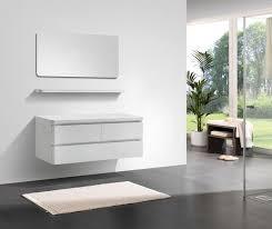 badmöbel serie swing 1400 weiß hochglanz günstig