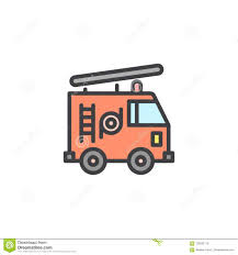 Fire Truck Filled Outline Icon Stock Vector - Illustration Of Icon ... Firetruck Clipart Free Download Clip Art Carwad Net Free Animated Fire Truck Outline On Red Neon Drawing Stock Illustration 146171330 Engine Thin Line Icon Vector Royalty Coloring Page And Glyph Car With Ladder Fireman Flame Departmentset Colouring Pages Trucks Printable Lineart Of A Cartoon Black And White With Linear Style Sign For Mobile Concept Truck Icon Outline Style Image Set Collection Icons