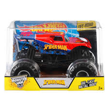 Hot Wheels Monster Jam Spider-Man Vehicle - Walmart.com