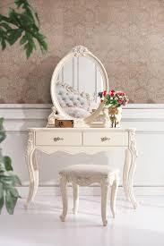 moderne schlafzimmer set hochwertige europäischen stil schminktisch kommode mit hocker stuhl geschnitzte massivholz schlafzimmer möbel
