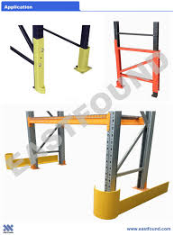 Warehouse Storage Upright Steel Column Guard Protector For Pallet Racking Rack Accessories