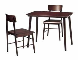 Cafe Table Set 2 For Dining Sets Room 3 Piece Two Seat Of Wooden