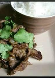 cuisine coriandre boeuf aux oignons et à la coriandre