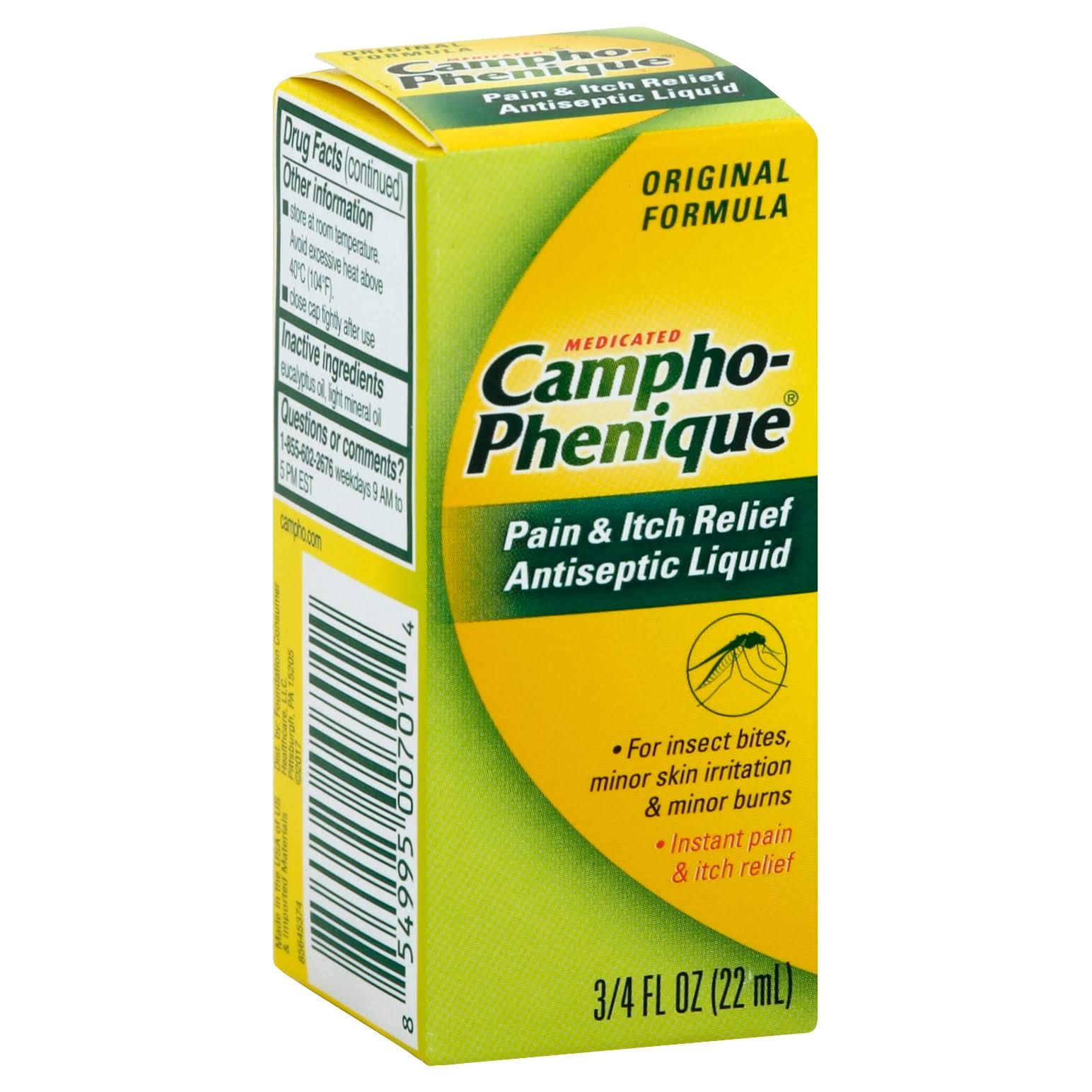 Campho-Phenique Pain & Itch Relief Antiseptic Liquid - 0.75oz