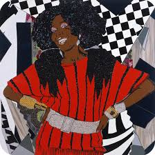 A Different Type of Beauty Painter Mickalene Thomas Eulogizes Her