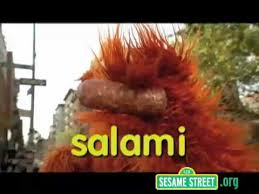 Sesame Street Letter S sound and words that begin with S