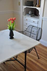 Dining Room Tables Ikea by Restlessoasis Diy Faux Marble Dining Table Ikea Hack