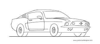 Cool Easy To Draw Cars