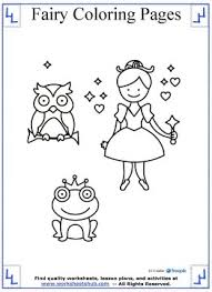 Fairy Coloring Pages 10