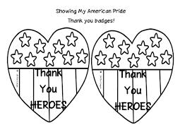 Veterans Day Thank You Printable