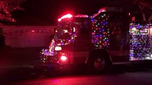 Tarpon Springs Fire Department's Christmas Fire Truck - YouTube Parade Of Lights Banff Blog 2 On The Road Christmas Electric Light Parade Fire Truck With Youtube Acvities Santa Mesa Arizona Facebook Montesano Awash Color At Festival Lights The On Firetruck Awesome Mexico Highway Crew Uses Firetruck Ladder To String Photo Gallery Nov 26 2017 112617 Arrow Totowa Residents Gather For Annual Tree Lighting Passaic Valley Musical Ft Sparky Dog Youtube Rensselaer Adventures 2015