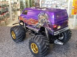 100 Monster Truck Lunch Box Customized Tamiya 2WD Electric Kit
