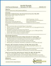 Objective For Resume No Experience Objectives Administrative Assistant Entry Level Cover Letter With