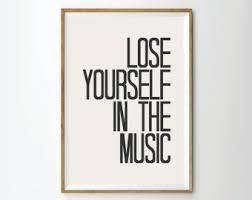 Inspirational Quotes Quote Prints Postersmusic Typography Poster Lyrics Art