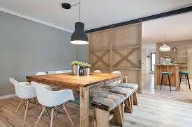 Stylish Dining Room In Gray With Modern Farmhouse Appeal Design Drom Living