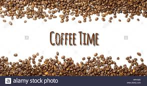 Coffee Beans Border With Copy Space
