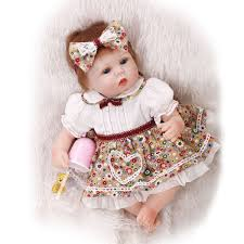 21 Reborn Baby Doll Lifelike Soft Silicone Realistic Realistic