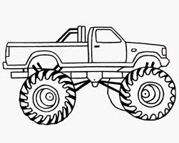 100 Monster Truck Coloring Drawing At GetDrawingscom Free For Personal Use