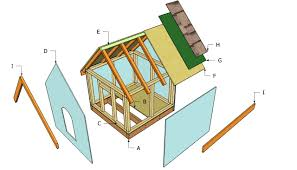 Slant Roof Shed Plans Free by Simple Dog House Plans Myoutdoorplans Free Woodworking Plans