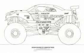 Gallery: Drawings Of Monster Trucks, - Drawings Art Gallery