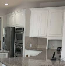 Kitchen Color Ideas With Cherry Cabinets 5 Tips Painting Kitchen Cabinets White And The
