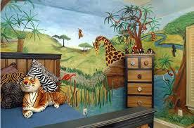 Unique Design Jungle Themed Bedroom 20 For Kids