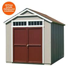 Suncast Outdoor Storage Cabinets With Doors by Sheds Sheds Garages U0026 Outdoor Storage The Home Depot