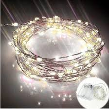 Waterproof Starry String Lights Bendable Led Room Decor Ideas Christmas Birthday Evening Party Warm
