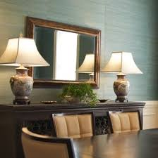 Traditional Porcelain Asian Lamps For Dining Room