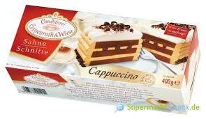 coppenrath wiese sahne schnitte cappuccino nutri score