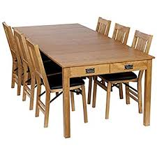 Stakmore Traditional Expanding Table Finish Oak