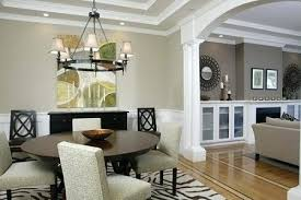 Separate Dining Room From Living Design Ideas Of Partition Walls Kitchen And