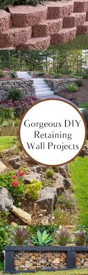 Best 25+ Backyard Retaining Walls Ideas On Pinterest | Retaining ... Retaing Wall Designs Minneapolis Hardscaping Backyard Landscaping Gardening With Retainer Walls Whats New At Blue Tree Retaing Wall Ideas Photo 4 Design Your Home Pittsburgh Contractor Complete Overhaul In East Olympia Ajb Download Ideas Garden Med Art Home Posters How To Build A Cinder Block With Rebar Express And Modular Rhapes Sloping Newest