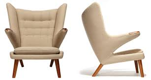 Hans Wegner Papa Bear Chair Leather by Mid Centuria Art Design And Decor From The Mid Century And