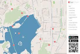 xihu qu 2018 avec photos 西湖区 printable tourist map sygic travel