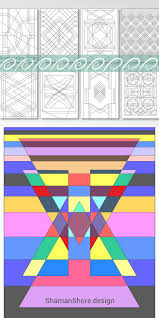 Coloring Book For Adults Geometric Adult Pages Printable Abstract Pdf Grown Ups Color
