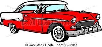 Vintage Car Illustrations And Stock Art 20651