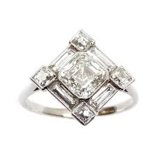 deco square rings 120 best a list images on rings jewelry and