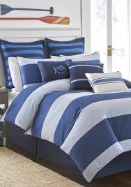 Vince Camuto Bedding by Southern Tide Dock Street Stripe Reversible Comforter Set Belk
