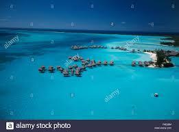 polynesia bora bora aerial view of le meridien hotel