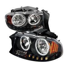 97 04 dodge dakota black halo projector led headlights