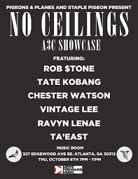 announcing the no ceilings showcase at a3c festival in atlanta