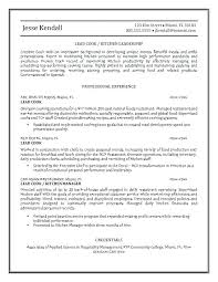 Prep Cook Resume Professional Line Resumes And