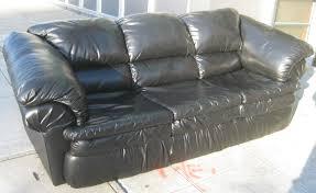 Berkline Sofas Sams Club by Uhuru Furniture U0026 Collectibles Sold Black Vinyl Sofa 85
