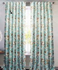 Jacobean Floral Country Curtains by Amazon Com Envogue French Country Floral Print Window Curtain