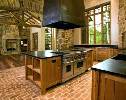 Brick Kitchen Floor Problems With Floors Modern Remodeling