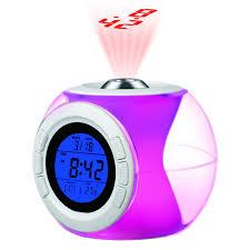 reveil heure au plafond réveil projection de l heure allumage vocal sur grossiste